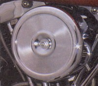 CHROME LATE STYLE AIR CLEANER